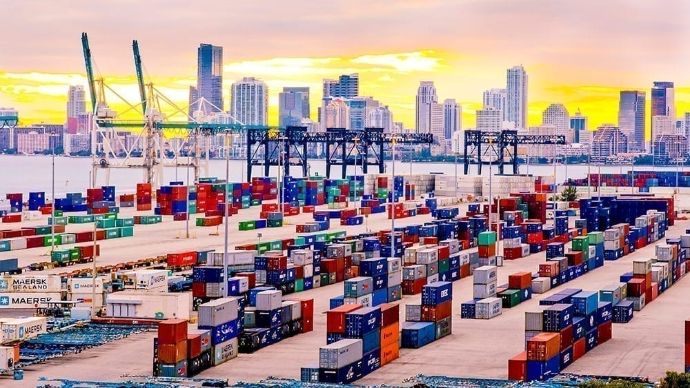 Miami Cargo Containers