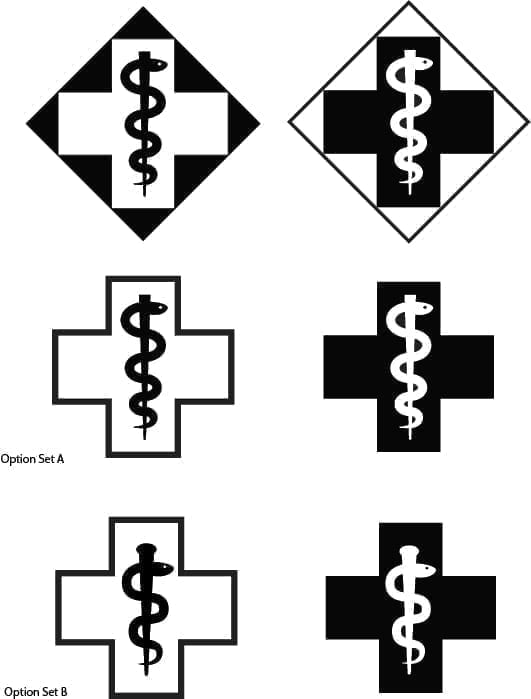 simple medicine logo evolution