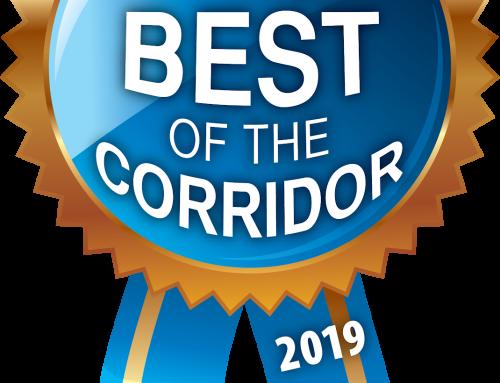 Vortex Business Solutions Wins CBJ Best of the Corridor Top 3 Best PR/Marketing/Creative Agency and Best Website Developer