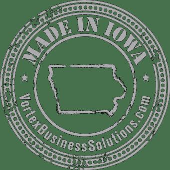 Vortex Digital Business Solutions Iowa City Made in Iowa seal