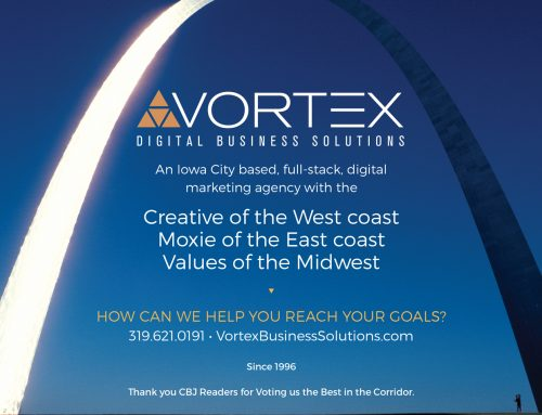 Vortex Digital Business Solutions and Infinity Photographic Among CBJ Best of the Corridor Winners