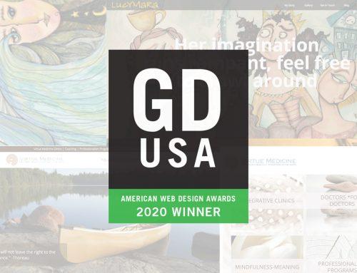 Vortex Digital Business Solutions Wins Graphic Design USA Web Design Awards